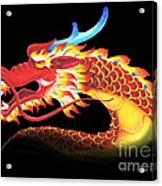 Eastern Dragon Acrylic Print