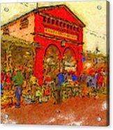 Eastern Market Acrylic Print