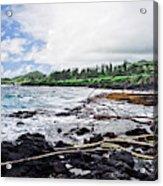 Eastern Shore Of Maui Acrylic Print