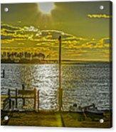 Eastern Shore Sunset Acrylic Print