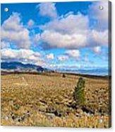 Eastern Sierras 29 Pano Acrylic Print
