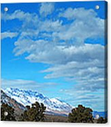 Eastern Sierras Panoramic - U S 395 California Acrylic Print