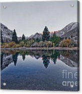 Eastern Sierras Reflection Acrylic Print