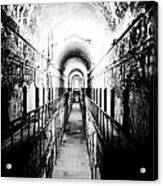 Eastern State Pen Hall Acrylic Print