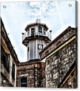Eastern State Penitentiary Guard Tower Acrylic Print