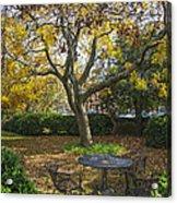 Easton Garden Acrylic Print