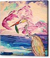 Easy Dreams Acrylic Print by Chris Cloud