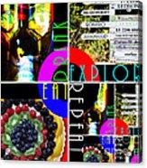 Eat Drink Explore Repeat 20140713 Horizontal Acrylic Print