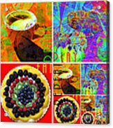Eat Drink Play Repeat 20140705 Acrylic Print