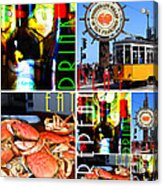 Eat Drink Play Repeat San Francisco 20140713 Horizontal Acrylic Print