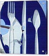 EAT Acrylic Print