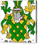 Eaton Coat Of Arms Irish Acrylic Print