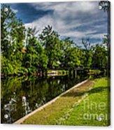 Eaton Rapids Island Park Acrylic Print