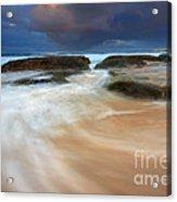 Ebb Tide Sunrise Acrylic Print