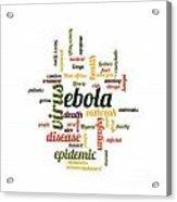 Ebola Acrylic Print