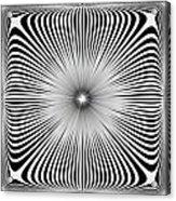 Ebony Blossom Acrylic Print