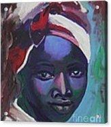 Ebony Women Acrylic Print