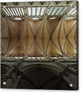 Ecclesiastical Ceiling No. 1 Acrylic Print by Joe Bonita