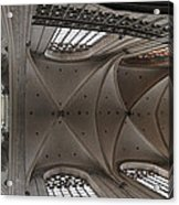 Ecclesiastical Ceiling No. 3 Acrylic Print