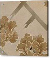 Echigo Dojouji Crop I Acrylic Print