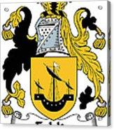 Echlin Coat Of Arms Irish Acrylic Print
