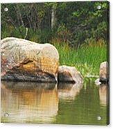 Echo Lake Reflection Acrylic Print