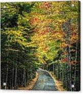 Echo Lake Road Acrylic Print
