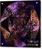 Echoes Through The Night Veil  Acrylic Print