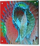 Echoing Seed Pod  Acrylic Print