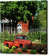 Eckert's Old And New Acrylic Print