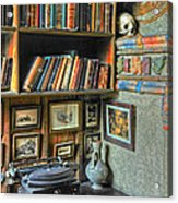 Eclectic Office Acrylic Print