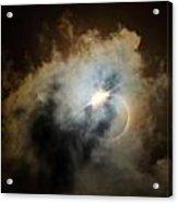 Eclipse Diamond Ring Acrylic Print