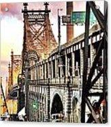 Queensboro Bridge Acrylic Print
