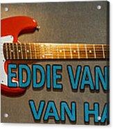Eddie Van Halen Guitar Acrylic Print
