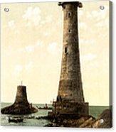 Eddystone Lighthouse Plymouth England Acrylic Print