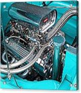 Edelbrock In A Chevy 3100 Hotrod Acrylic Print