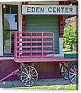 Eden Center Depot 1943 Acrylic Print