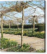 Eden Spring Garden Acrylic Print
