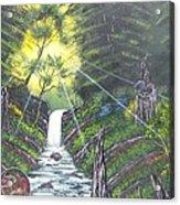 Eden's Bridge Acrylic Print