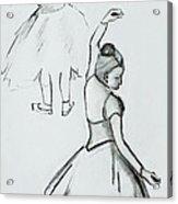 Edgar's Dancers Acrylic Print