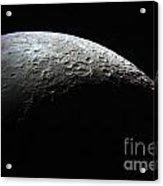 Edge Of A Crescent Acrylic Print