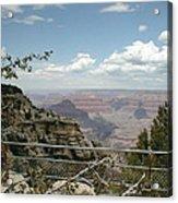 Edge Of Canyon Acrylic Print