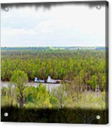 Edge Of Mississippi River Acrylic Print