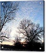 Reduced  Edge Of Morning Acrylic Print