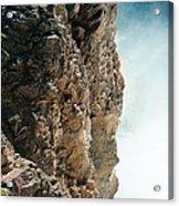 Edge Of The Upper Falls Acrylic Print