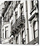 Edinburgh Architecture Acrylic Print