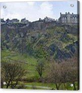 Edinburgh Castle - Scotland  Acrylic Print