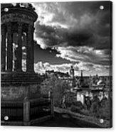 Edinburgh From Calton Hill Acrylic Print