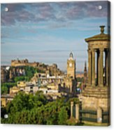 Edinburgh Sunrise Acrylic Print
