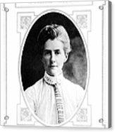 Edith Cavell (1865-1915) Acrylic Print
